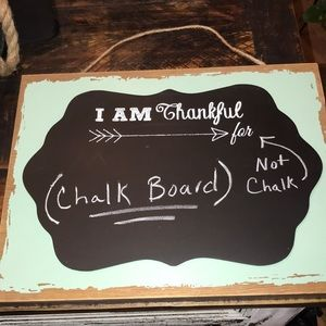 Other - Chalkboard Siign
